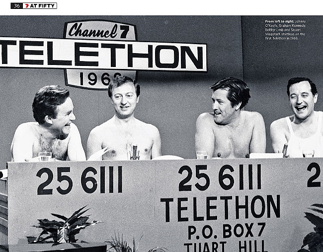 First Telethon in 1968